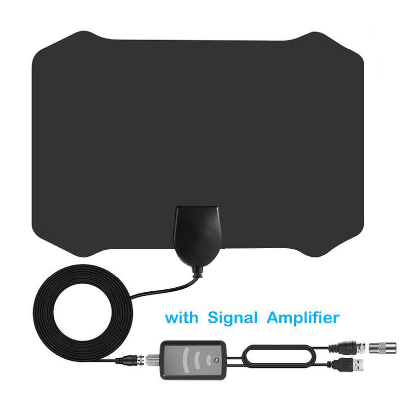 Strongest Indoor HD Digital TV Antenna With Signal Amplifier 4K 1080P HDTV